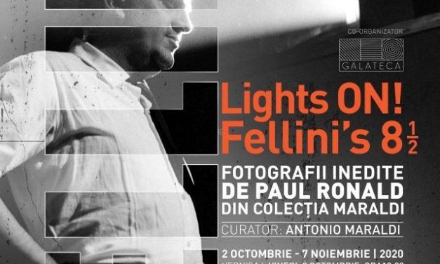 """Vernisaj """"Lights on!"""" Federico Fellini și Program Galateca NAG 2020"""