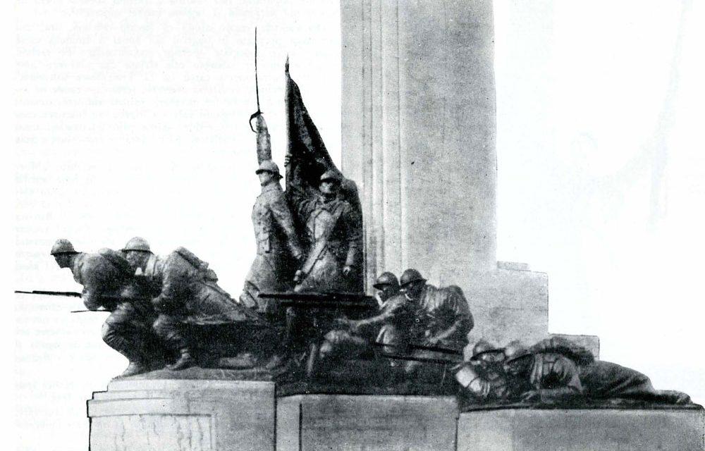 Monumentul infanteriei executat de Ion Jalea în 1936