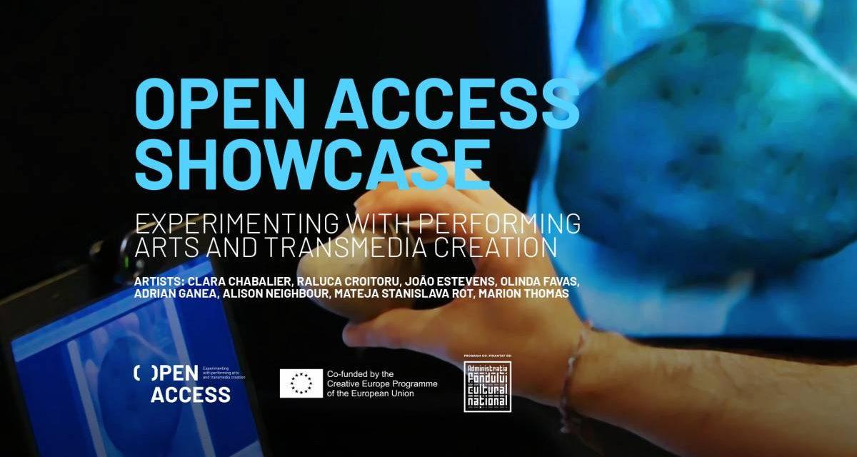 Prezentarea OPEN ACCESS – Experimentând cu artele performative și creațiile transmedia se deschide weekendul acesta la Cluj