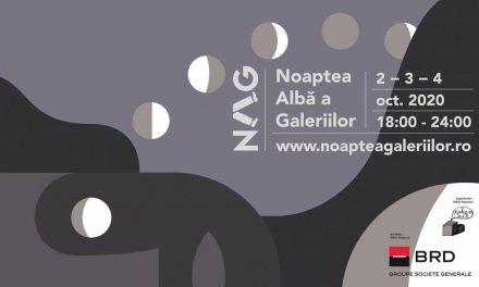 Programul Nopții Albe a Galeriilor 2020: 3 seri în 11 orașe din țară, 02-04 octombrie