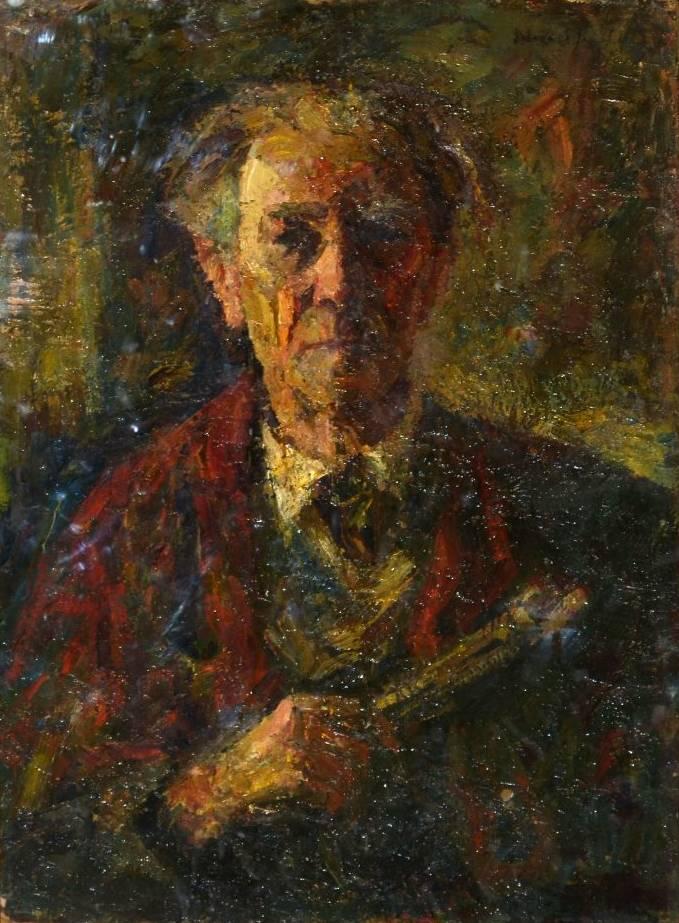 Rudolf Schweitzer–Cumpana, Autoritratto
