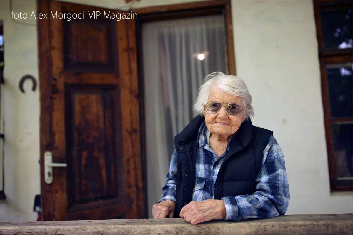 Valentina Rusu Ciobanu, la    apropierea varstei de 100 de ani