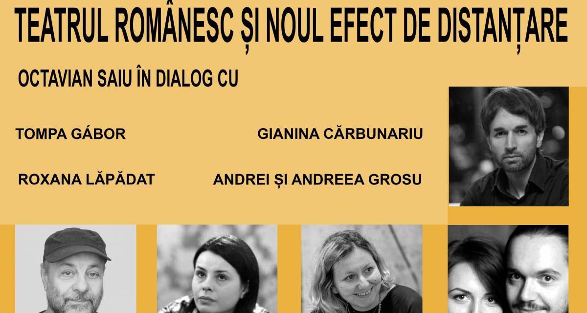 TEATRUL DE COMEDIE lansează o serie specială de conferințe-dialog online