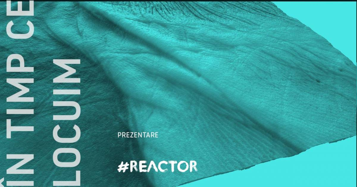 În timp ce locuim – instalație performativă #reactor