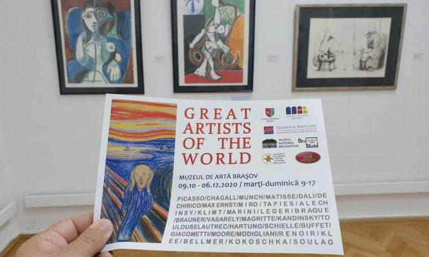 Great Artists of the World – Colecția George Șerban @ Muzeul de Arta Brasov
