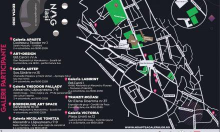 Noaptea Albă a Galeriilor din Iași – 2020