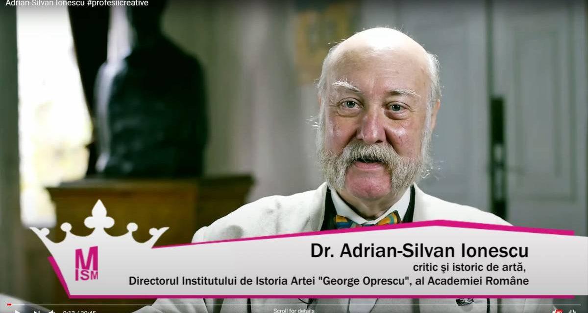 Adrian-Silvan Ionescu #profesiicreative