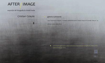 """Expoziție de fotografie & mixed media Cristian Graure """"AFTER/IMAGE în cadrul Analogic 2020"""