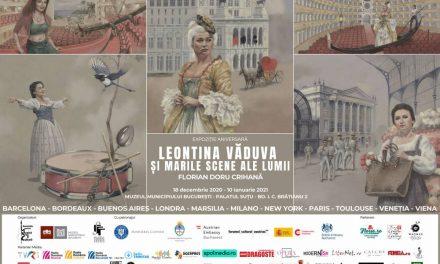 LEONTINA VĂDUVA ȘI MARILE SCENE ALE LUMII Operă ilustrată după un libret de Florian Doru Crihană