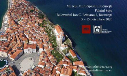 """""""Orașe în rezumat. Piețe din Europa și istoriile lor"""", un proiect de antropologie vizuală la Palatul Suțu"""