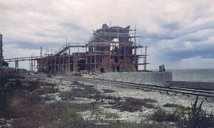 Cazinoul din Costanța în faza de construcție, în jurul anului 1905