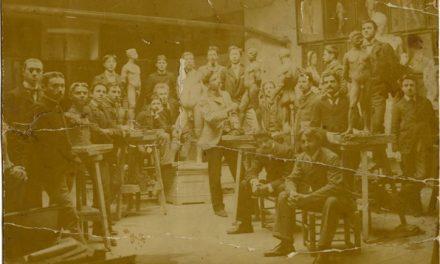 Constantin Brâncuși la Școala de Belle Arte din București