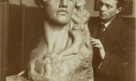 Cornel Medrea în atelier