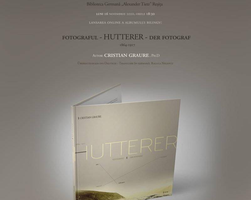 Lansarea catalogului Cristian Graure: HUTTERER: Fotograful = der Fotograf