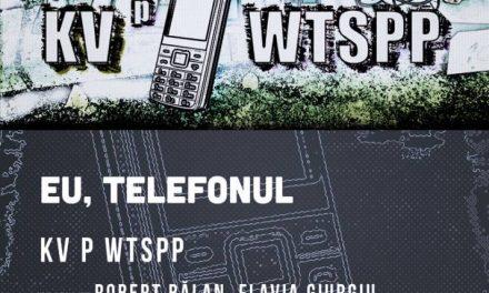Despre telefon pe telefon sau cum se mută teatrul pe WhatsApp