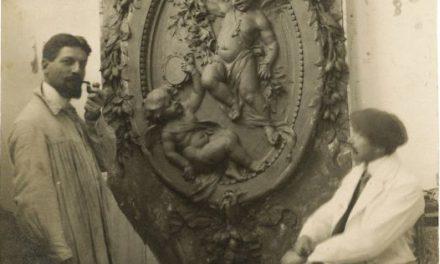 Frederic Storck în atelier
