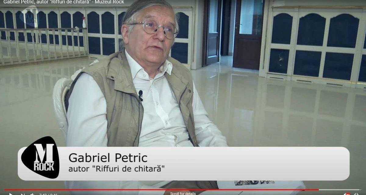 """Gabriel Petric, autor """"Riffuri de chitară"""" – Muzeul Rock"""