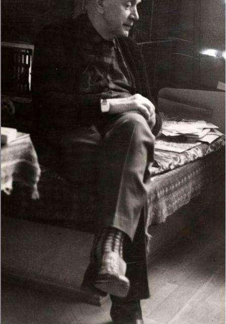 Ion Irimescu, fotografie de Ion Cucu