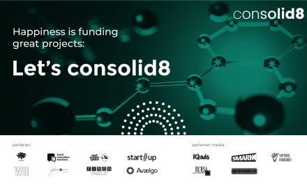 Antreprenorii sociali si cei din industriile creative au acum o platforma de crowdfunding gratuita: consolid8, dezvoltata la initiativa fonduri-structurale.ro