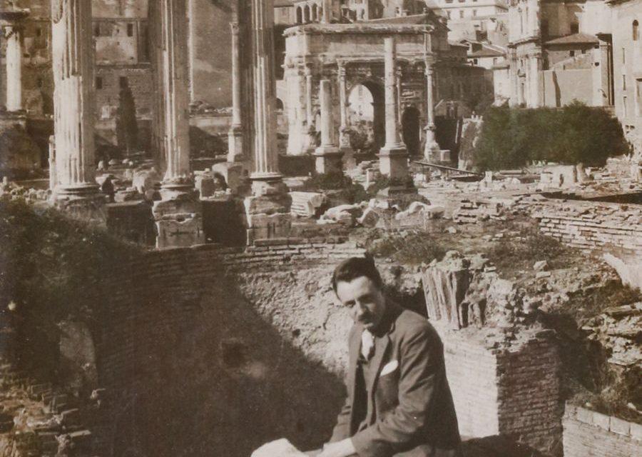 Sculptorul Richard Hette la Roma
