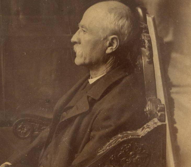 Ultima fotografie a pictorului Nicolae Grigorescu, 1906