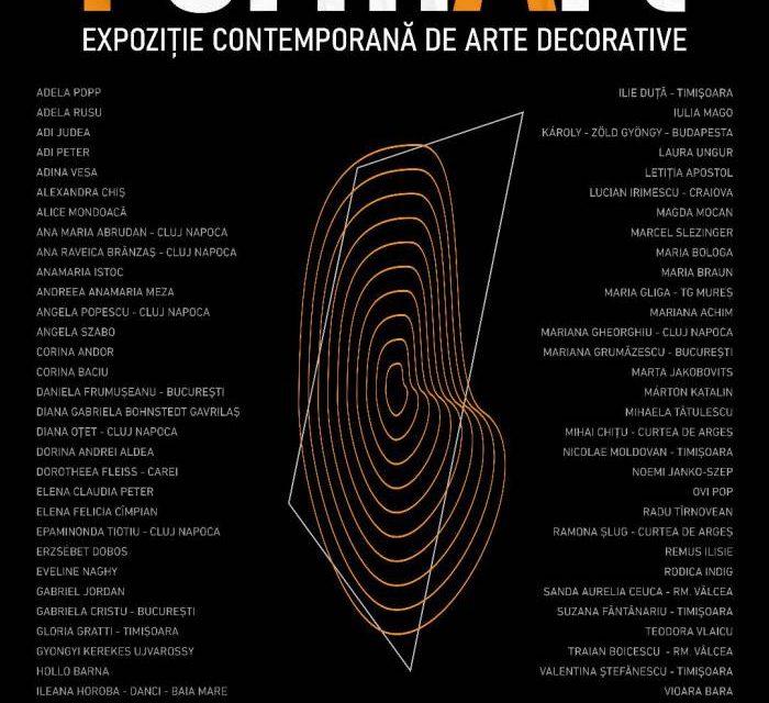 expoziția contemporană de Arte Decorative FormArt @ Galerii de Artă-Reperaj.Cetate Oradea