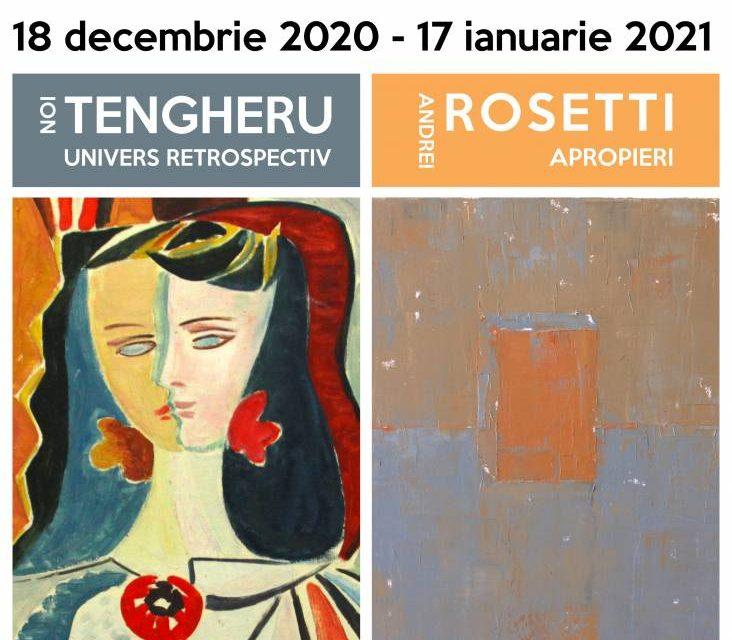 """Ion TENGHERU – """"UNIVERS RETROSPECTIV"""" și Andrei ROSETTI – """"APROPIERI"""" la Galeria Națională de Artă FORMA din Deva"""