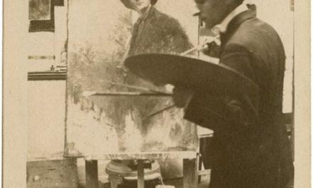 Aurel Jiquidi în atelier