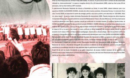 """Exponatul lunii decembrie """"Diana, eroina de la Sala Dalles"""" la Muzeul Național de Istorie a României"""