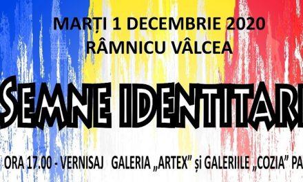 """Expoziția """"Semne Identitare"""" @ Galeria Artex și Galeriile Cozia Pasaj, Râmnicu Vâlcea"""