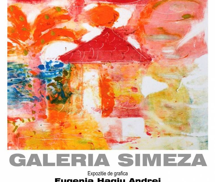 """Expoziție de grafică Eugenia Hagiu Andrei """"Acasă"""" @ Galeria Simeza, București"""