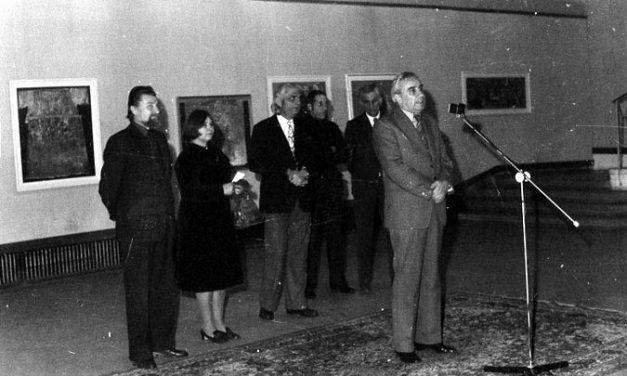 Expoziție personală Georgeta Năpăruș, Sala Dalles, București, 1980