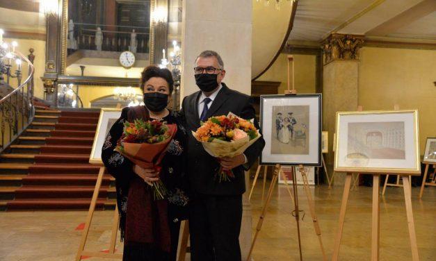 Florian Doru Crihană – expoziția Leontina Văduva și marile scene ale lumii @ Palatul Suțu