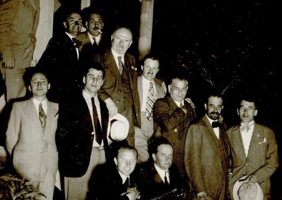 Nicolae Tonitza, Richard Hette și Ioan Cosmovici, fotografie de grup
