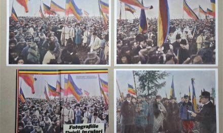 Fotografiile Unirii colorizate manual @ Historia