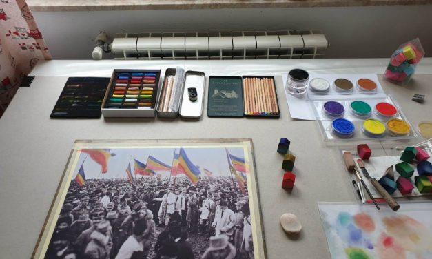 Unirea de la 1 Decembrie 1918 – fotografii colorizate manual