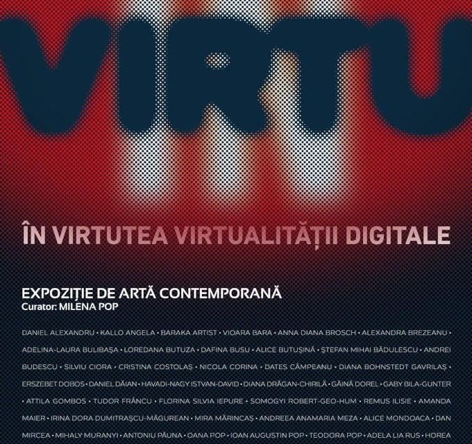 "Expozitia ""In Virtu-In virtutea virtualitatii digitale"" @ Galerii de Arta-Reperaj. Cetate, Oradea"