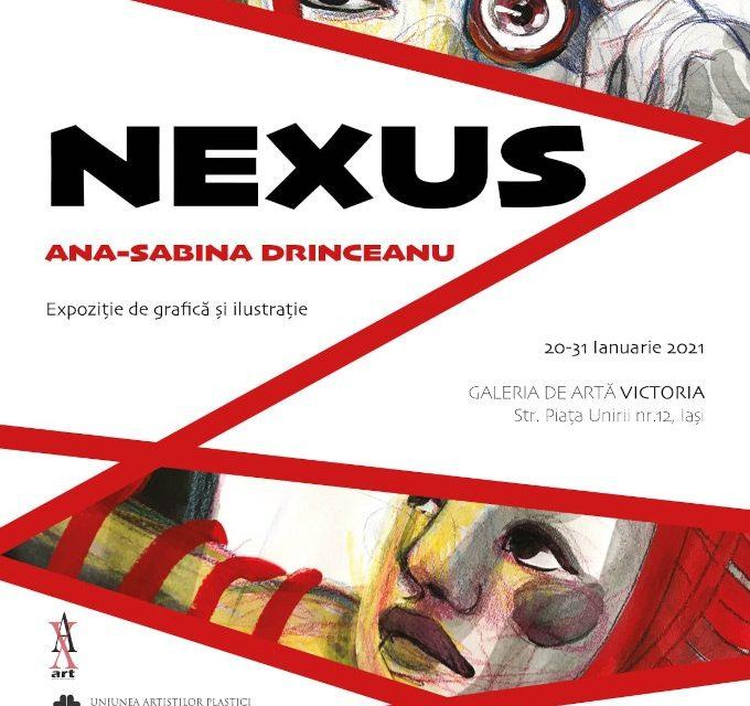 """Expoziția de grafică și ilustrație, """"NEXUS!"""" – Ana-Sabina Drinceanu @ Galeria de Artă """"VICTORIA"""", Iași"""
