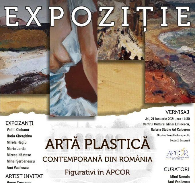 """Expoziție de pictură """"Figurativi in APCOR"""" @ Centrul Cultural Mihai Eminescu, București"""