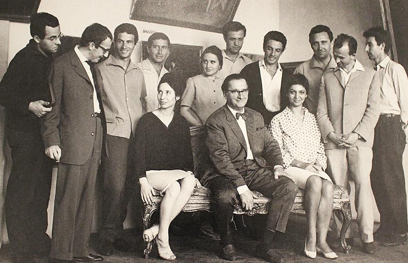 Henry Mavrodin, Ion Bănulescu, Ion Cojocaru, Francisc Bartok, Ana Drăgușanu, Liviu Lăzărescu, Cornel Ionescu, Georghi Petrov, Filora Iosif, Corneliu Baba și un model