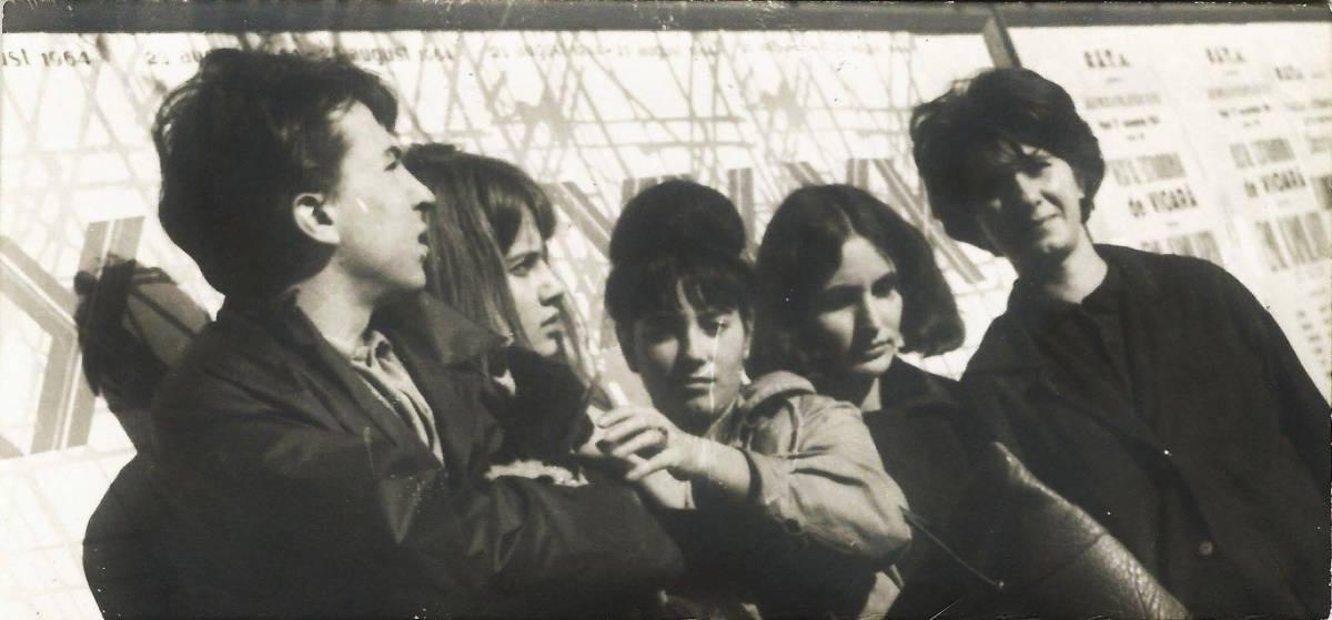 Iulian Mereuță, Adriana N, Ruxandra Juvara, Ioana Vlasiu, Rozica S în 1964