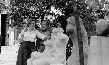 Sculptorița Valentina Boștina și Țuli BUȚ