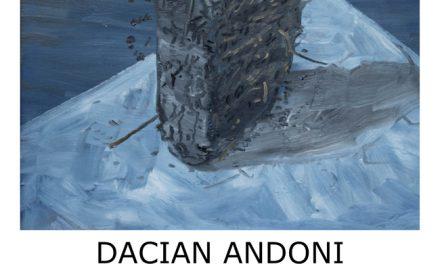 """Dacian Andoni """"Prizma tepoasa / Spiky Prism (Picturi din colectia Herczeg)"""" @ Galeria Új Kriterion, Miercurea Ciuc"""