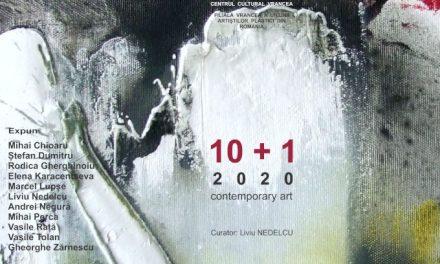 Expoziţia de artă contemporană10+1, dedicată zilei de24 ianuarie-Ziua Unirii Principatelor Române @ Pinacoteca Centrului Cultural Vrancea