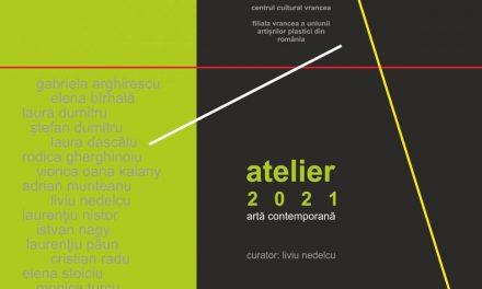 """Expoziția de grup """"Atelier"""", a Filialei Vrancea a Uniunii Artiştilor Plastici din România @ Pinacoteca Centrului Cultural Vrancea"""