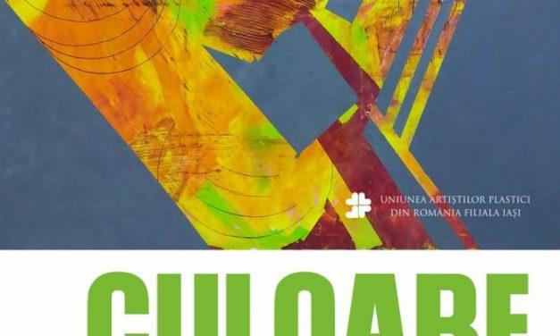 """Expoziția de pictură Carmen Gabriela Gîtlan """"Culoare"""" @ Galeria de artă """"Th. Pallady"""" din Iași"""