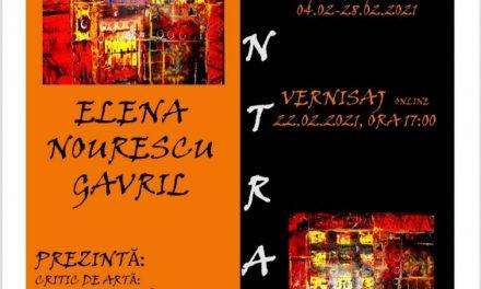 """Expoziția de pictură Elena Nourescu Gavril """"Contrast"""" @ Iulius Mall Iași"""