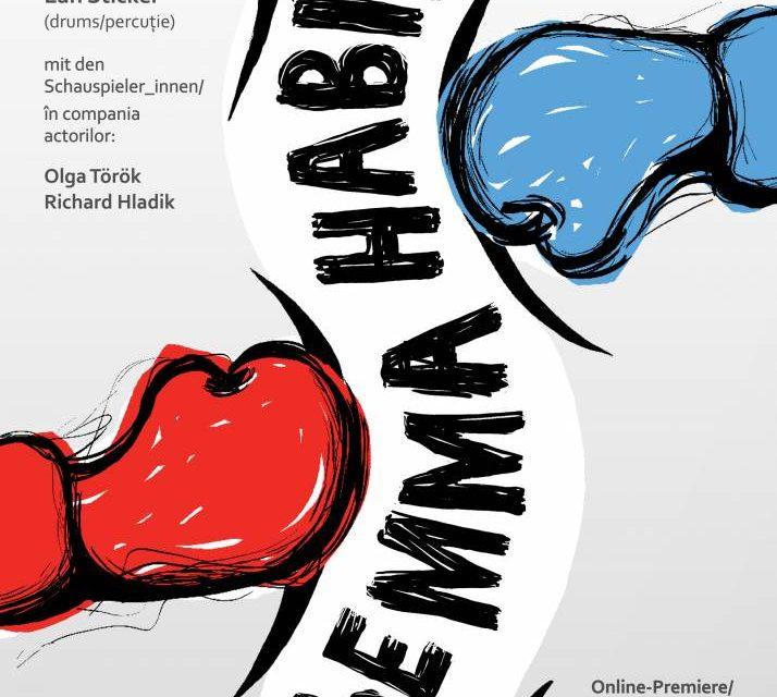 """Premieră online """"Gemma Habibi"""" de Robert Prosser, performance realizat în coproducţie de Forumul Cultural Austriac Bucureşti şi Teatrul German de Stat Timișoara"""