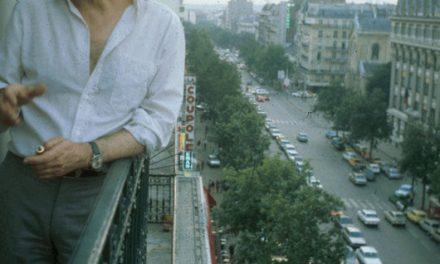 Horia Damian in Studioul din Paris, 1979
