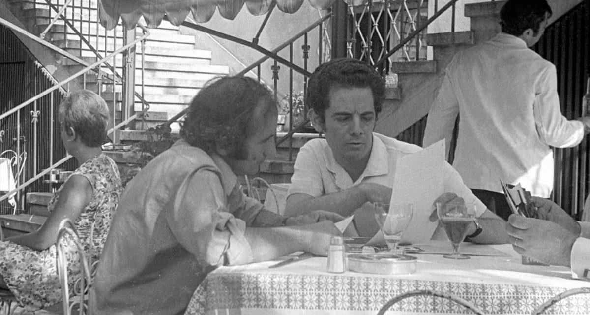 Richard Demarco și Radu Varia în București, 1971